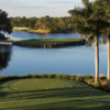 A view from tee #13 at Silver Fox Course from Trump National Doral Miami